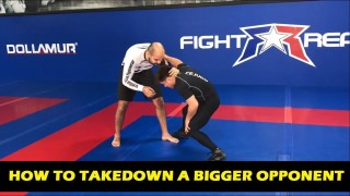 How To Take Down A Bigger Opponent by Henry Cejudo