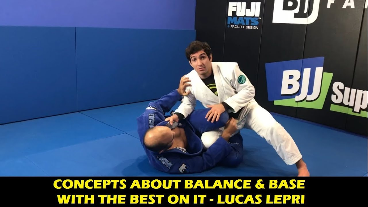 Making Yourself Un-Sweepable When Passing Guard- Lucas Lepri