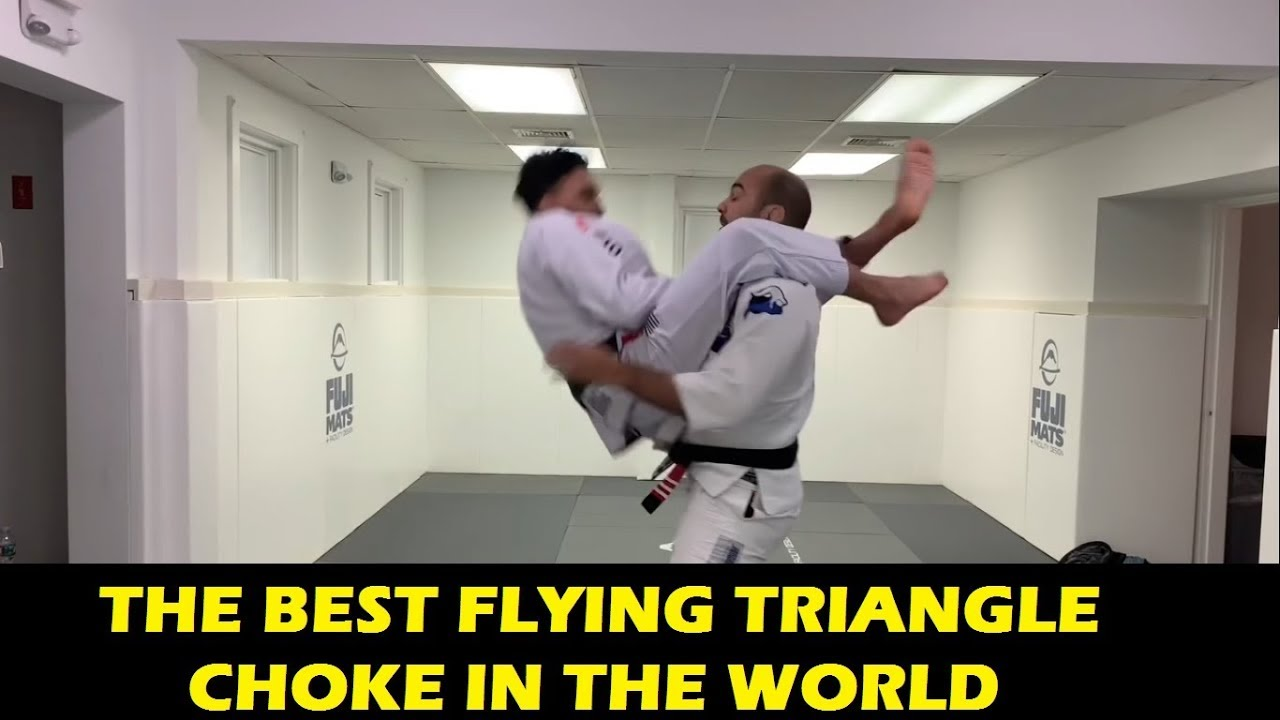 The Best Flying Triangle Choke In The World by Edwin Najmi