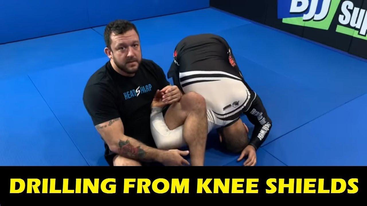 Tom DeBlass's Drill To Develop A Powerful Knee Shield Half Guard