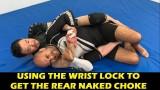 Using The Wrist Lock To Get The Rear Naked Choke by Kazushi Sakuraba