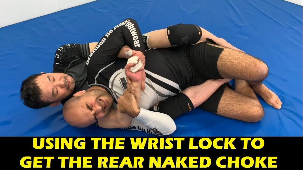 Using The Wrist Lock To Get The Rear Naked Choke by Kazushi Sakuraba