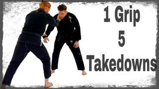 1 Grip 5 Takedown Options