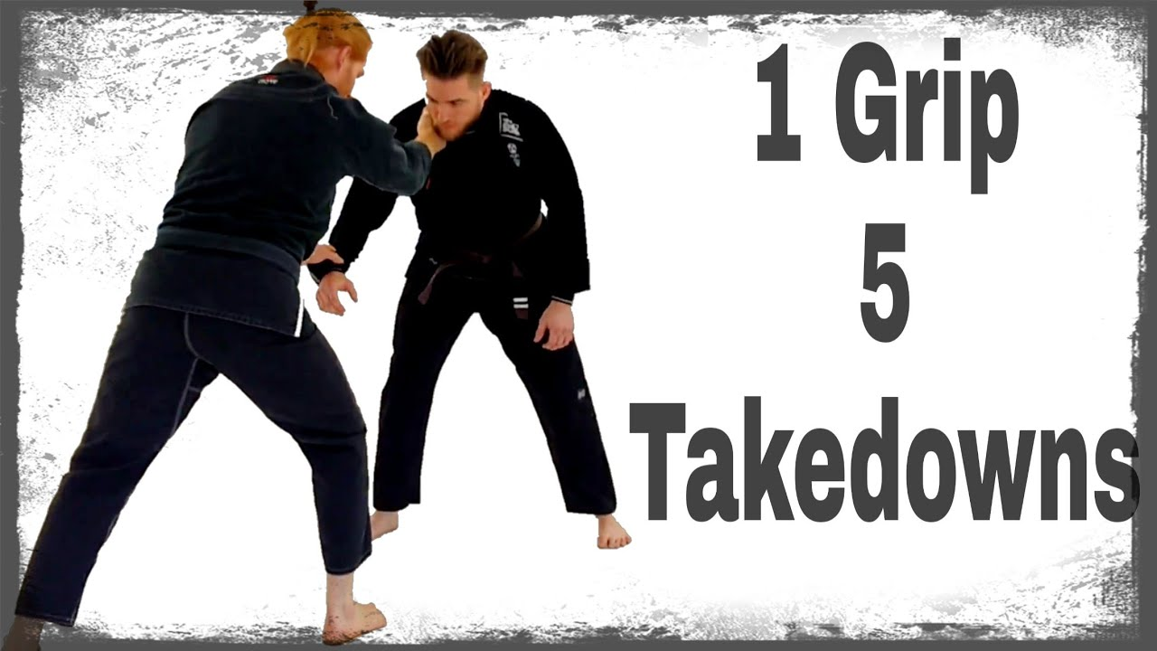 1 Grip 5 Takedown Options