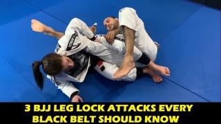 3 BJJ Leg Lock Attacks Every Black Belt Should Know by Luiza Monteiro