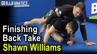 Finishing Back Take From Reverse Kimura by Shawn Williams