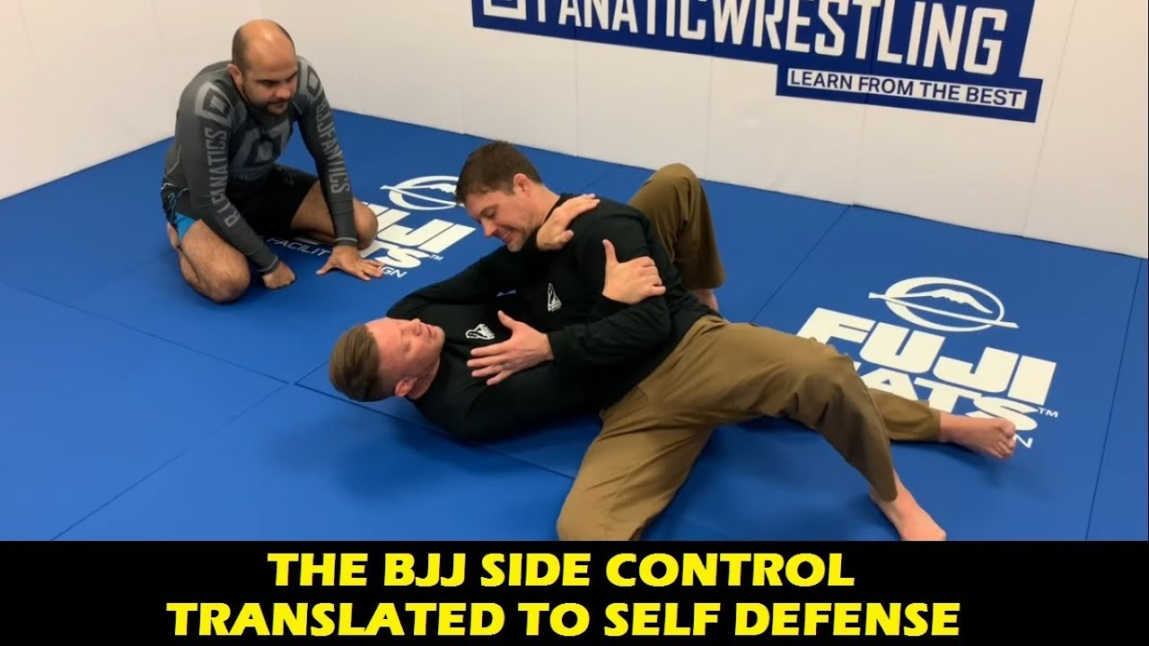 How To Adapt the BJJ Side Control To Self Defense by Eli Knight (Knight Jiu-Jitsu)