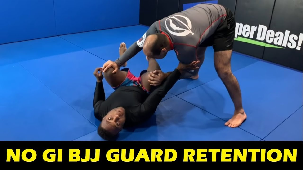 No Gi BJJ Guard Retention by Alec Baulding