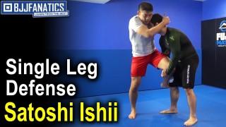 No Gi Judo: Single Leg Defense by Satoshi Ishii