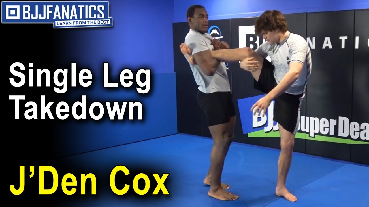 Single Leg Takedown by Wrestling World Champ J'Den Cox