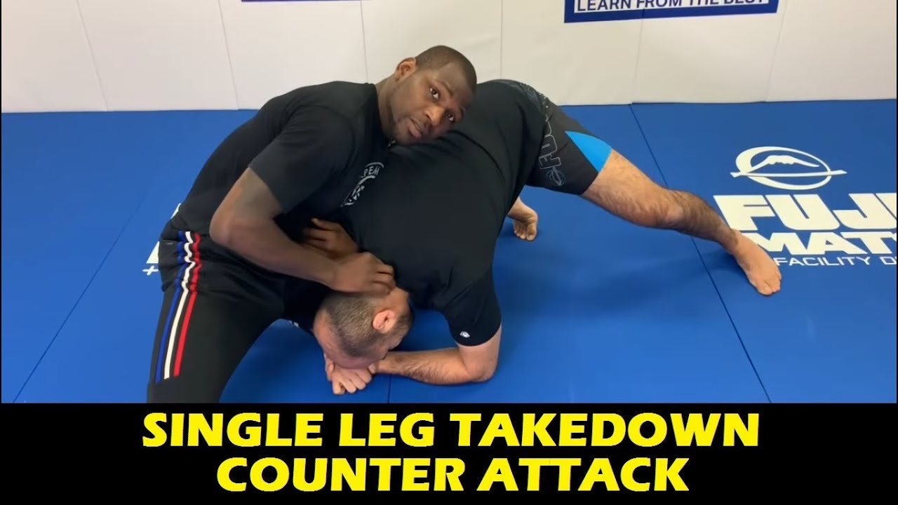 Single Leg Takedown Counter Attack wrestling by Ed Ruth