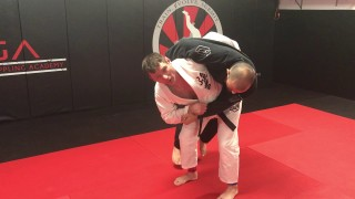What To Do If Your Opponent Grabs Your Belt. Hip To Hip Position