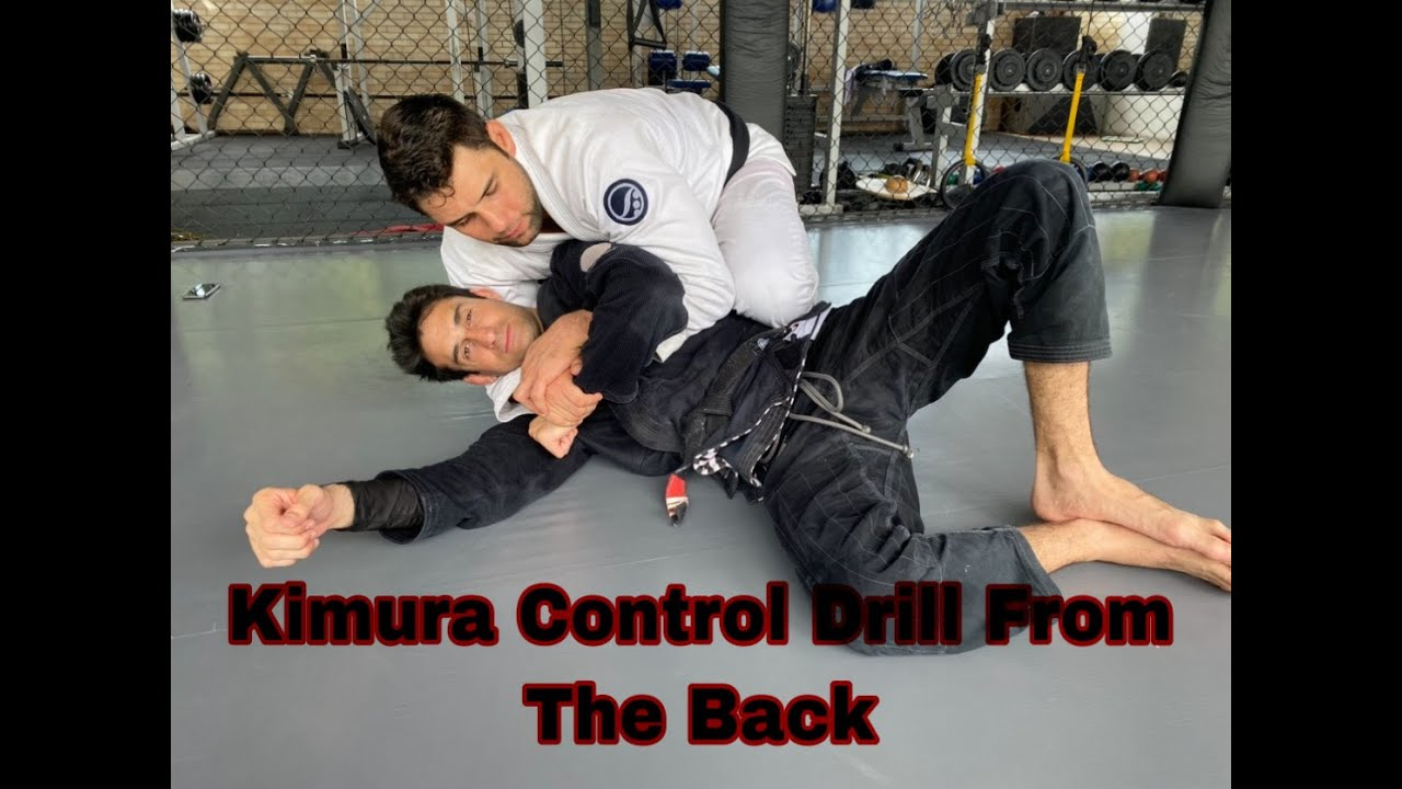 Cool Kimura Drill From The Back By Marcus Buchecha