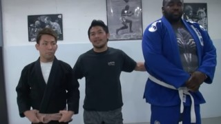 BJJ Brown Belt Takes on White Belt Close To 4 Times His Weight
