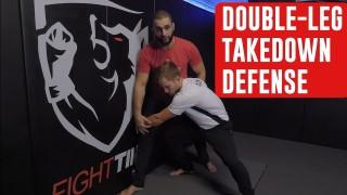 Stop a Wrestler's Double-Leg Takedown w/ Firas Zahabi