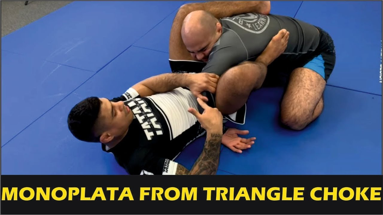 Amazing Monoplata From Triangle Choke by JT Torres