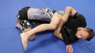 Craig Jones – Z-Half Guard Armbar (Bringing Leg Over The Head)