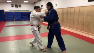 Ippon seoi nage misdirection trick