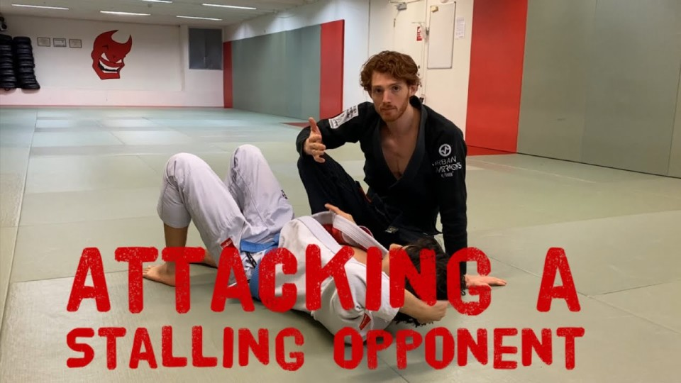 Opening Up Stalling Opponents with Knee on Belly Pressure