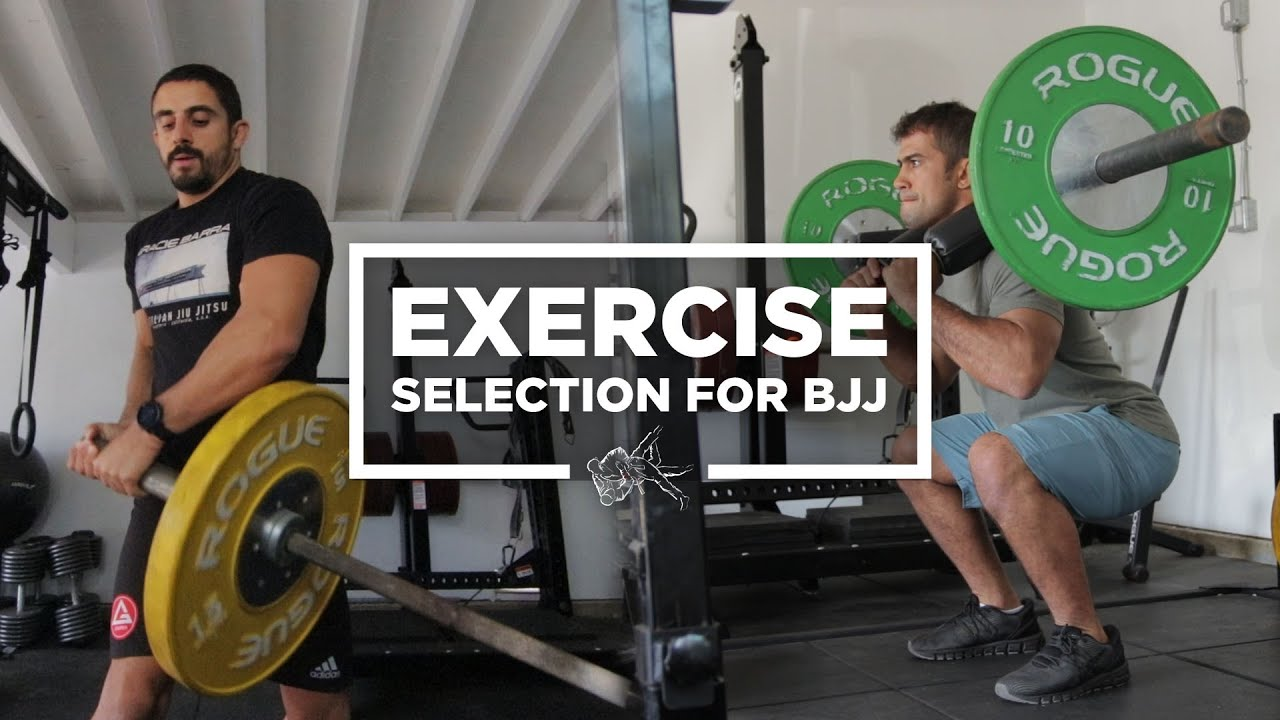 Which exercises will help improve your BJJ game the most?