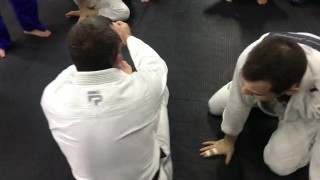 Samurai grip drag to reverse armbar
