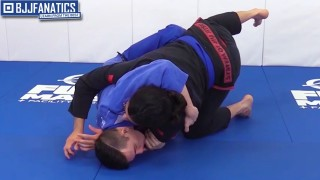 Half Butterfly Guard Butterfly Sweep When Smashed Head and Arm Control by Aaron Benzrihem