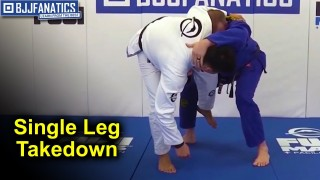 Single Leg Takedown Using The Lapel Weave – BJJ Move by Kyle Watson
