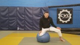 Solo Drills: Balance and Stability Ball Basics for BJJ