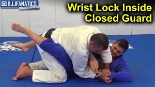 Wrist Lock Inside Closed Guard by Amaury Bitetti