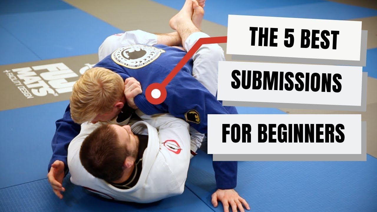Best Submissions for Beginner Jiu Jitsu Students- Travis Stevens