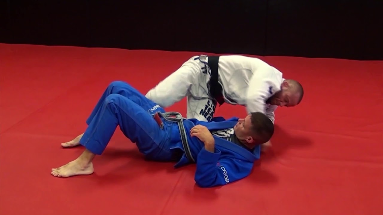 Butterfly Guard To 'Hingertine' / Guillotine by Josh Hinger