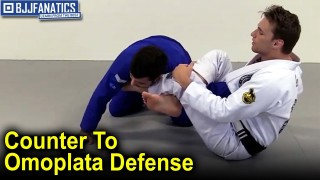 Clark Gracie Has a Powerful Counter to an Omoplata Defense