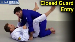 Closed Guard Entry To Omoplata – Clark Gracie