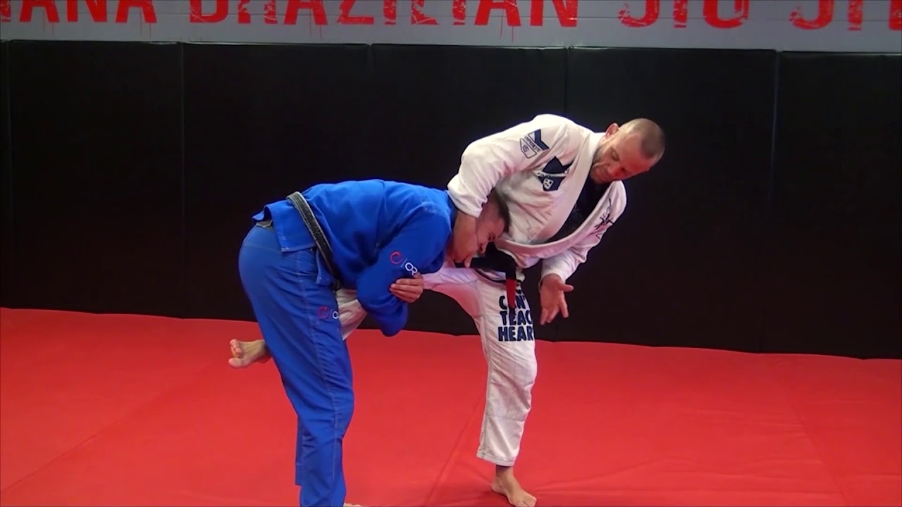 Counter the Single Leg with a Guillotine by Josh Hinger