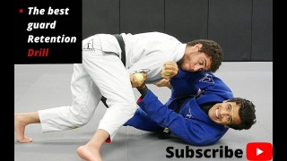 Develop an Unpassable Guard with Cobrinha's Guard Retention Drill