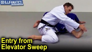 Entry To Omoplata from Elevator Sweep by Clark Gracie