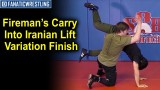 Fireman's Carry Into Iranian Lift Variation Finish by Joey McKenna