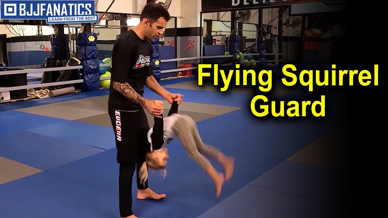 Flying Squirrel Guard for BJJ Kids by Joel Bouhey
