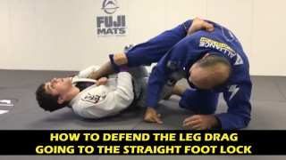 How To Defend The Leg Drag Going To The Straight Foot Lock by Mikey Musumeci