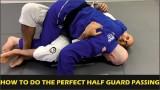 How To Do The Perfect Jiu Jitsu Half Guard Passing by John Danaher