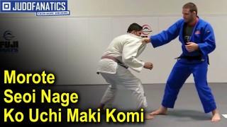 Morote Seoi Nage Ko Uchi Maki Komi Competition Style by Travis Stevens