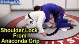 Shoulder Lock From The Anaconda Grip Out Take by Henry Akins