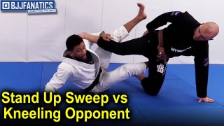 Stand Up Sweep against Kneeling Opponent by Dom Bell