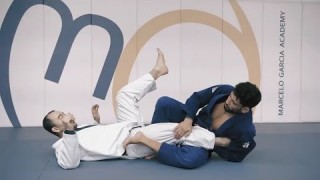 Straight Foot-Lock Escape from Open Guard- Marcelo Garcia
