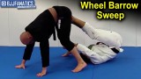 Wheel Barrow Sweep From Single Leg X by Dom Bell