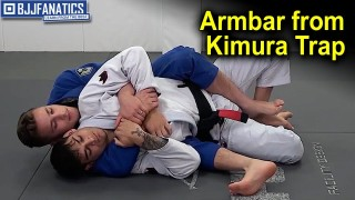 Armbar from Kimura Trap by Matheus Gonzaga