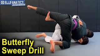 Basic Butterfly Sweep Drill by Thomas Lisboa