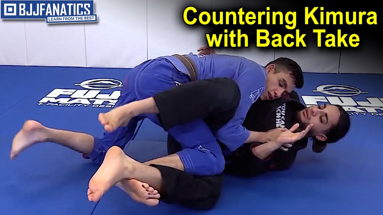 Counter the Kimura with a Back Take
