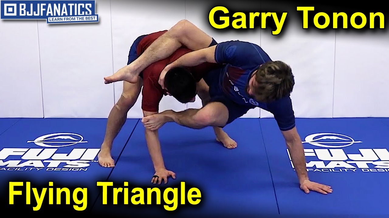 Easiest Set Up For Flying Triangle by Garry Tonon