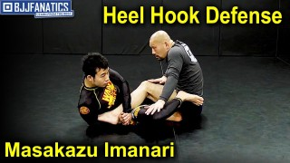 Heel Hook Defense by Masakazu Imanari